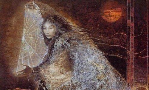 Legenden om drømmefangeren handler om Lakota-guden Iktomi