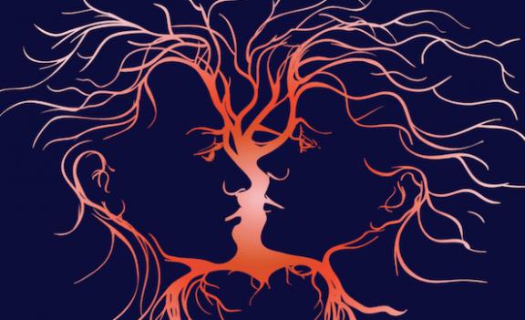Partnere kigger på hinanden, der repræsenterer emotionel intelligens