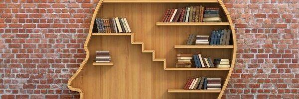 En pæn bogreol kan bidrage til et harmonisk liv