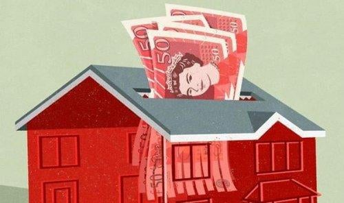 Penge i hus illustrerer Easterlin paradokset