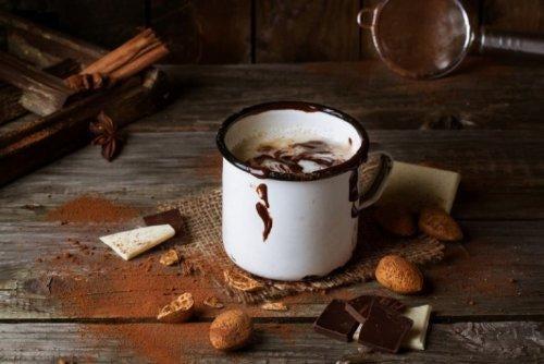 Mørk chokolade har et højt indhold af theobromin