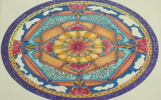 Mandala er et symbol på harmoni