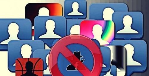 Man kan unfriende mennesker på de sociale medier