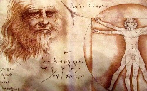 En Leonardi da Vinci tegning