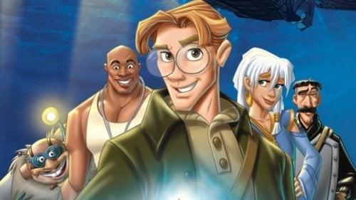 Milo er den traditionelle hovedfigur i animerede Disney-film