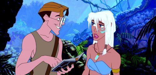 Atlantis og kvindernes rolle i Disney-film
