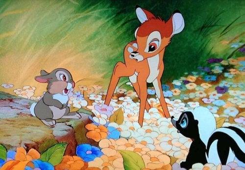 Bambi er en fantastisk film om dyr
