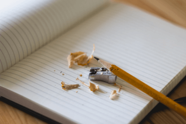 blyant og blyantspidser