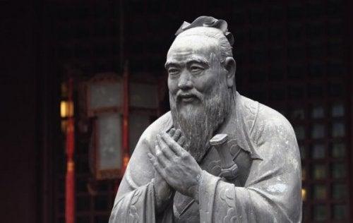 Statue af Konfutse