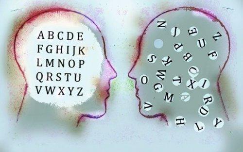 Bogstaver i hjerne kan være struktureret eller rodet