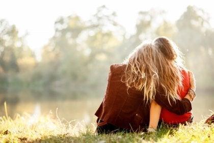 Et sandt venskab er den familie, man selv vælger