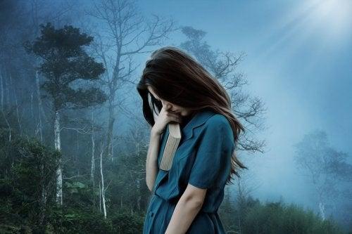 En kvinde taler depressionens sprog