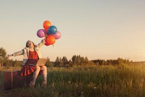Denne kvinde ved, at hvis du sætter pris på, hvad du har, vil du blive lykkeligere.