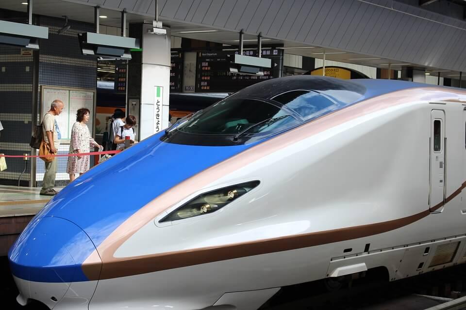 shinkansen - det japanske højhastighedstog