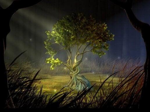 Ønsketræet i historien