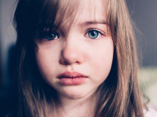 Tristhed hos børn er meget almindeligt