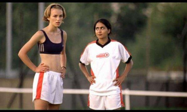 Scene fra Bend It Like Beckham