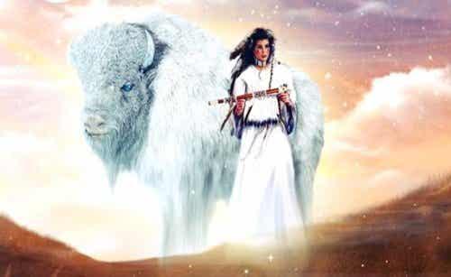 Den hvide bøffelkvinde: En indianerlegende