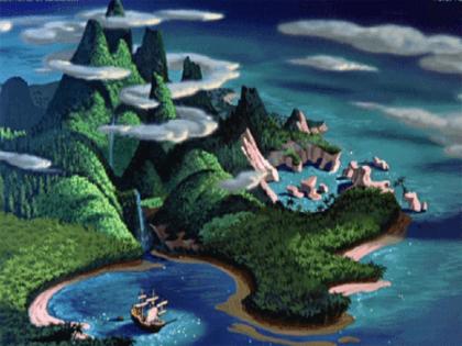 Ønskeøen er en fjerntliggende ø kun for børn