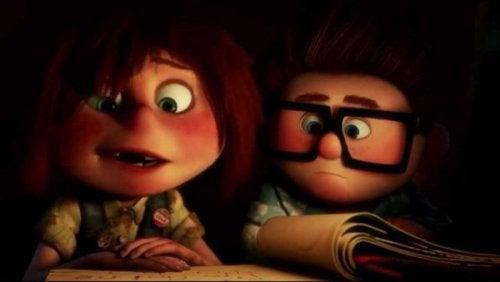 Scene fra filmen Op