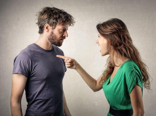 Nogle mennesker bliver vrede, når de ikke får deres vilje i svære relationer