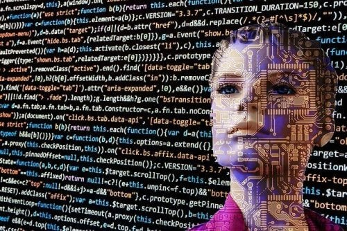 Robot registrerer data på væg