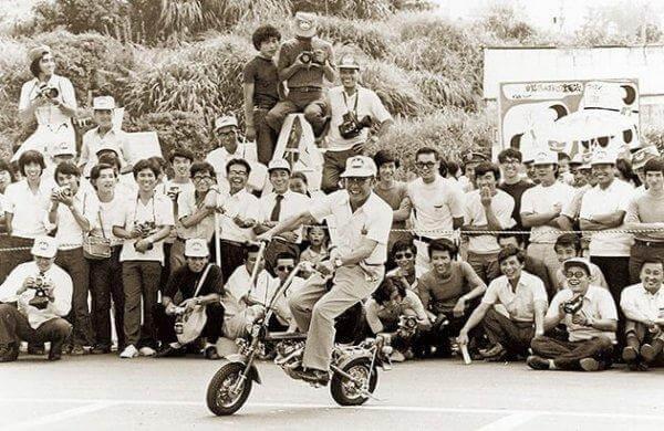 Soichiro Honda udviklede en motorcykel, der larmede meget mindre end de andre
