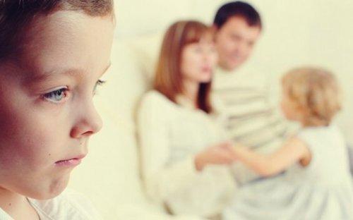 Ønskebarnet opstår, når forældrene favoriserer et barn fremfor andre
