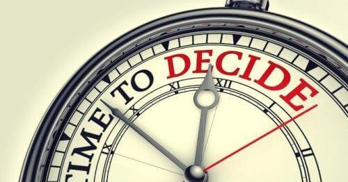 Ur viser tid til at tage beslutning
