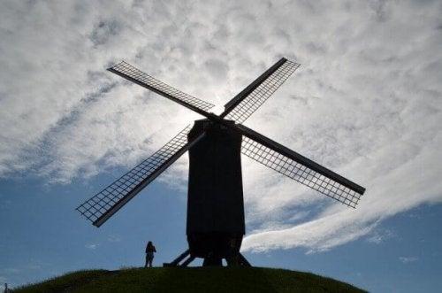 Kampen mod vindmøllerne har skabt Don Quixote-effekten