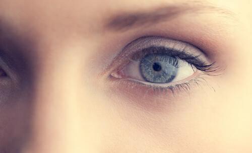 En kvindes øjne