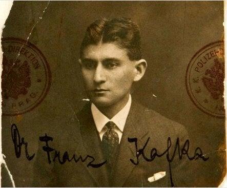 En ung Franz Kafka