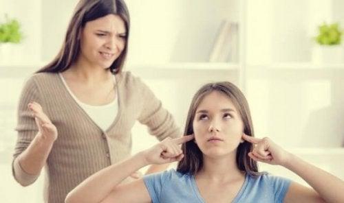 Mor kæmper med forældres roller i en spiseforstyrrelse