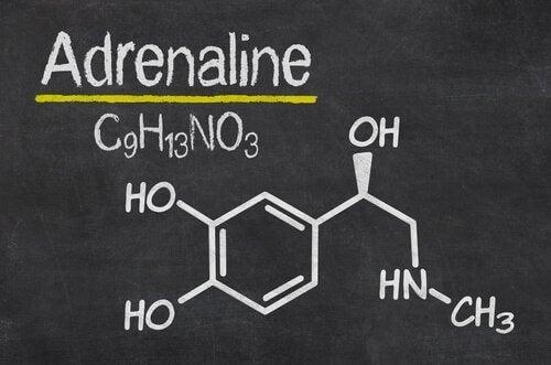 Adrenalins kemiske struktur