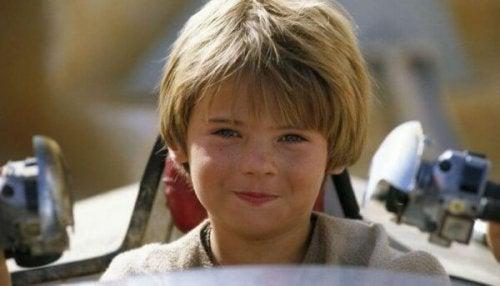 Anakin Skywalker som dreng