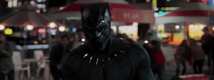 Black Panther i aktion