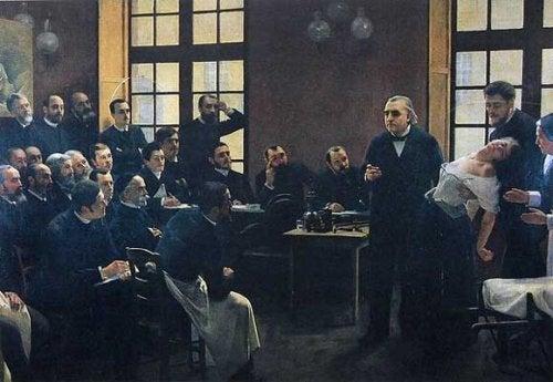 Charcot fremkom med sine teorier under sine berømte tirsdagssessioner