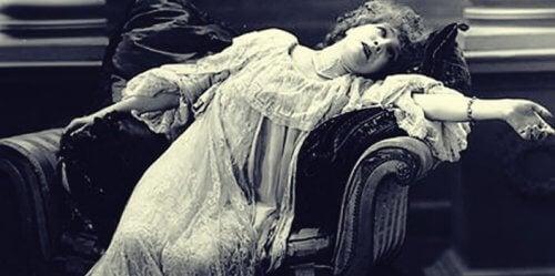Symptomerne på hysteri forsvandt under hypnose