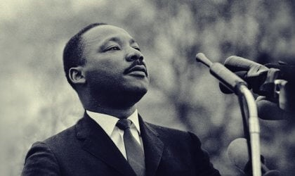 Martin Luther King har givet os citater imod vold