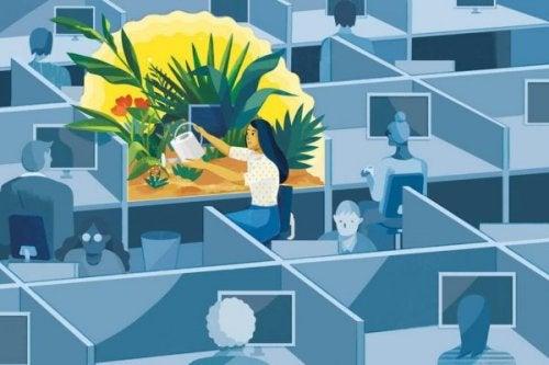 Mindfulness på arbejdet: 6 nøgler til sundhed og velvære