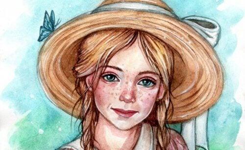 tegning af Pollyanna