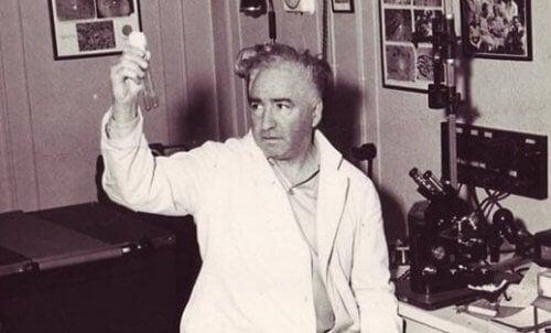 Wilhelm Reich holder to reagensglas