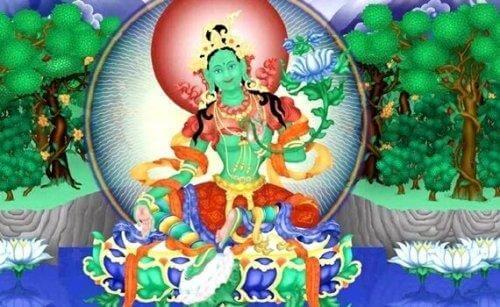 Det grønne Tara mantra: En befriende handling