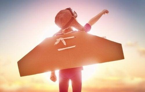 Batman effekten: Sådan lærer man børn at holde ud