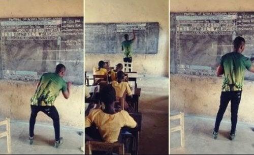 Holdning og inspiration: Den ghanesiske lærer