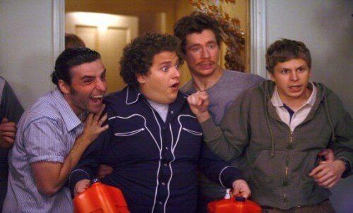 Billede fra TV show, der viser fedme i fjernsynet
