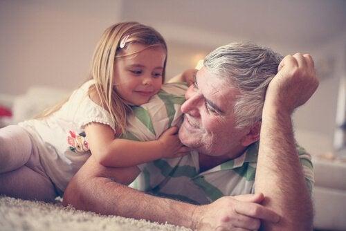 Bedstefar barnebarn