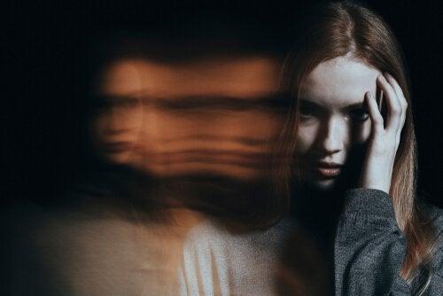 Kvinde med amotivationssyndromet