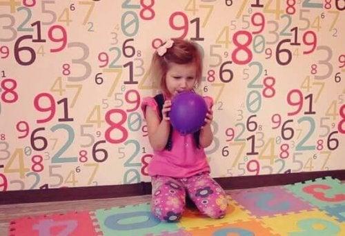 Det er let at lære ballonvejrtrækning