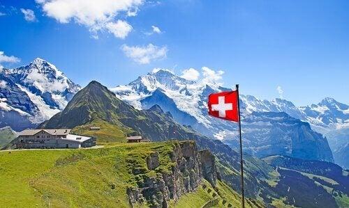De schweiziske Alper